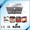 Big single flat pan fry ice cream machine