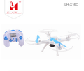 2018 The most popular LH-X16C rc drone kit 2.4G 6axis gyro quadcopter toys