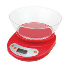 Smart Weigh Food Scale 11 lb Digital Plastic Kitchen Scale