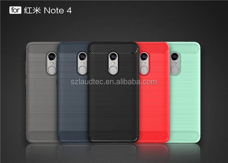 For Redmi Note 4 Mobile Phone Case Soft TPU Cases For Xiaomi Redmi Note 4 Protective Back Cover