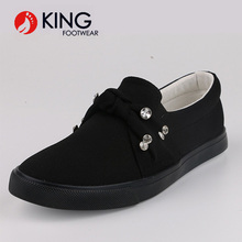 High Quality Wholesale Lady Stylish New Design Fashion Slip-On special Fabric China Women Flat Shoes