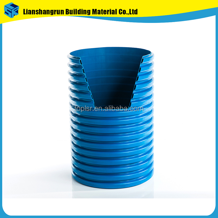 used road culverts HDPE double wall corrugated drain pipe