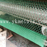pvc coated hexagons wire mesh