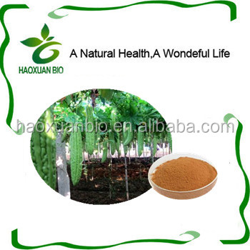 Organic Natural Bitter Melon Extract/Bitter Gourd P.E with charantin