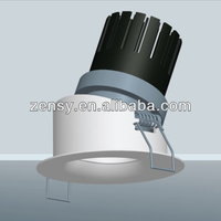 factory direct provide 8W LED down light rectangular recessed led ceiling lights