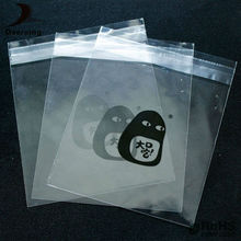 Self adhesive pp opp plastic bag label