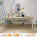 Display table L childrenswear store fixtures. modern style HC05L02-L