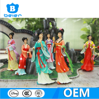 Customize office decoration, Chinese classical art, resin figurine factory