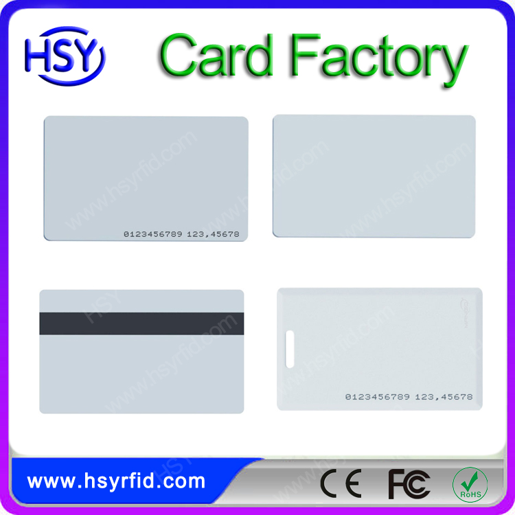Contactless RFID em4102 smart card with low cost