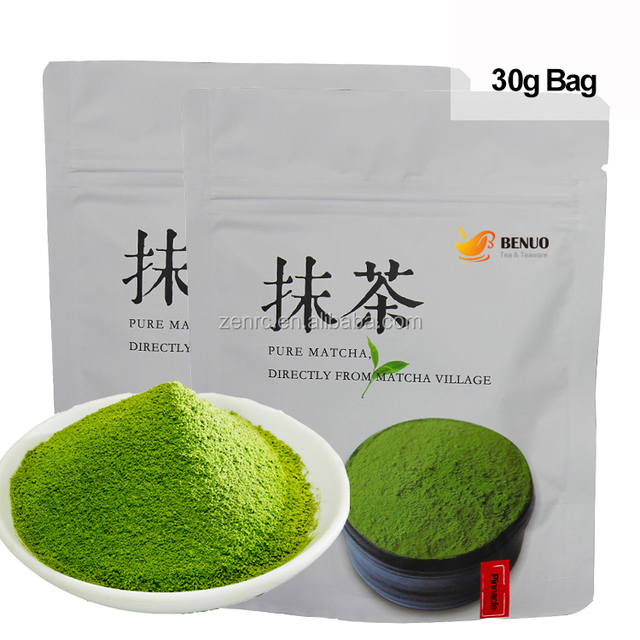 Most Elegant Taste 30g Small Bag Organic Pinnacle Matcha for Serious Japanese Tea Lovers