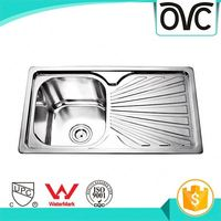 Recyclability unique stainless steel kitchen sink