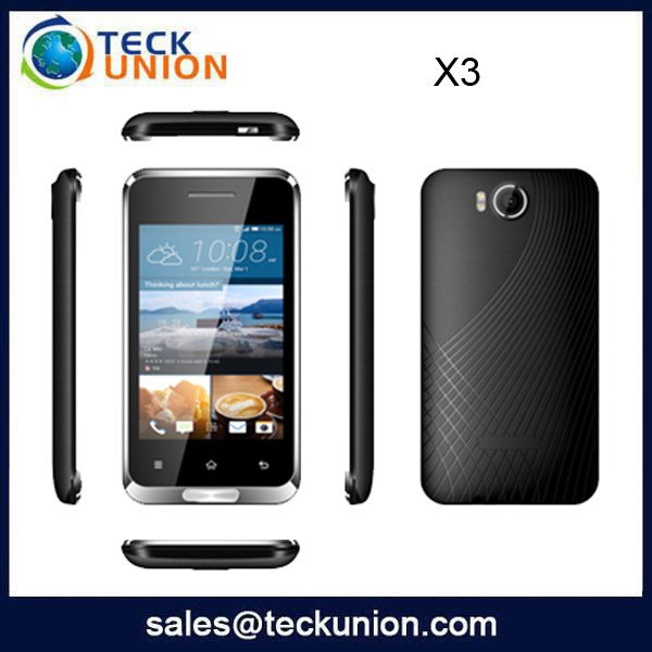 X3 3.5 Inch Spreadtrum 6531 Pda Phone Mobile With Whatsapp Wifi Cellular Phone