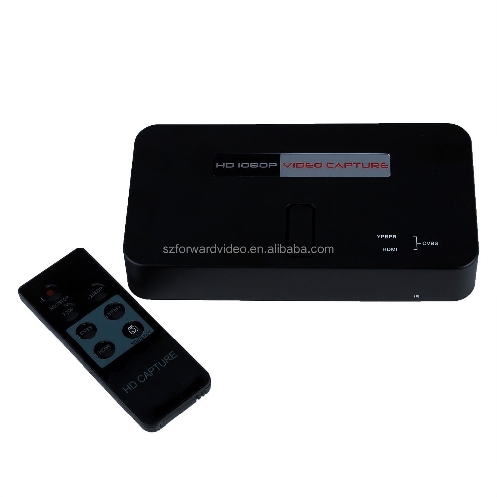 HD game capture with remote control