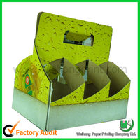 Corrugated board durable beer packaging box