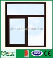 Cheap house windows for sale thermal break price of aluminum sliding window made in China PNOCSLW110