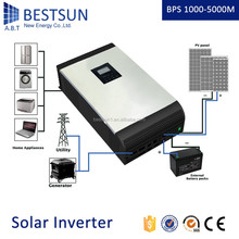BESTSUN 12v/24v 1kw DC/AC Inverters Type and Single Output Type ups inverter battery charger battery