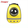 beautiful design Airline Approved capsule dog backpack pet carrier bag with hole