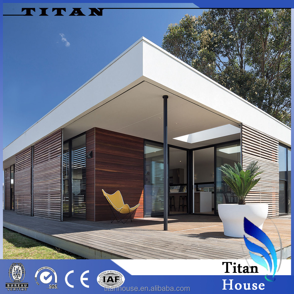 1 Floor and 120 m2 Country Western Styled Kitset Prefab House