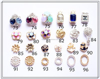 Newest Design Fashion Rhinestone Flower Nail Art Accessories