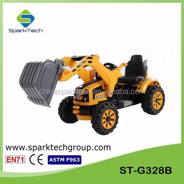 Most Attractive Kids Ride on Electric Toy Car Kids Ride on Toy Excavator