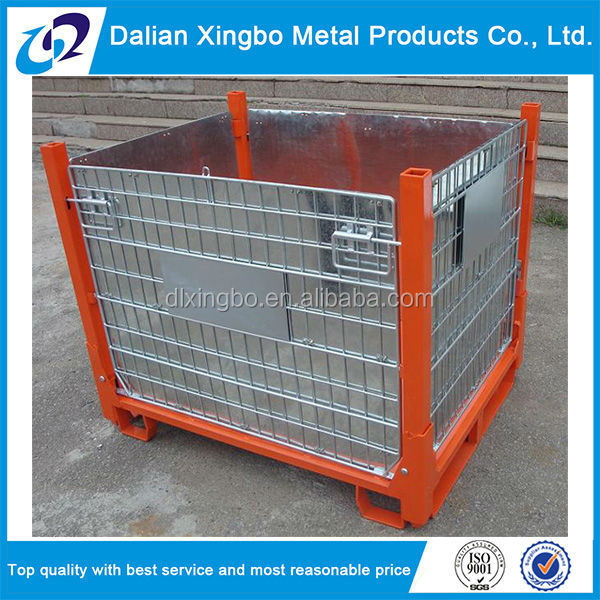 Cheap collapsible metal box