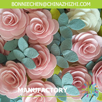 hot sale high quality beautiful rose decorative flower for wreath
