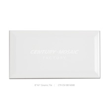 Century Factory Supply Super White 4''x8'' Cheap Ceramic Tile