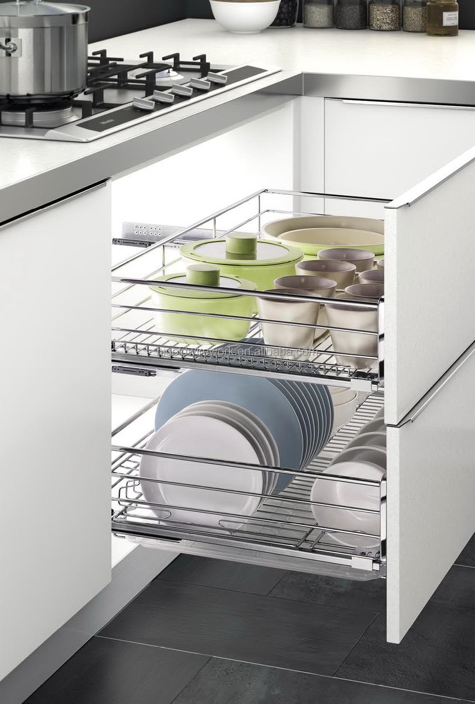 Kitchen Design Multi Pull Out Basket - Buy Kitchenbasket,Kitchen ...