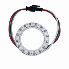5050 16leds 8w RGB 5V ultra thin color flash running ws2811 led strip