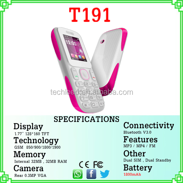 1.77inch screen big battery torch dual sim quad band new smallest cell phone