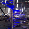Spiral Staircase Steel Tempered Glass Spiral