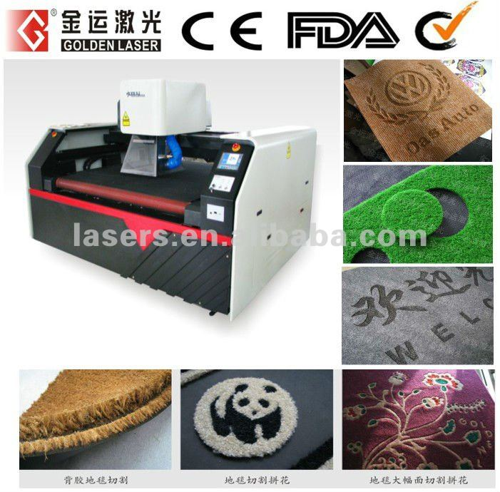 Floor Carpet,Car Mat,Wool Rug Laser Cutting Machine