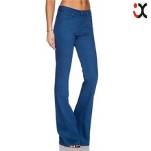2015 branded jeans cheap flared jeans for women JXQ1027