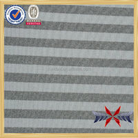 Strip heather stretch air layer athletic textile manufacturers