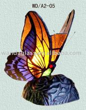 tiffany butterfly lamp (stained glass)