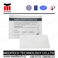 "Factory Supply high quality & Good price Thermal Printer Cleaning Card - 3""x6"""
