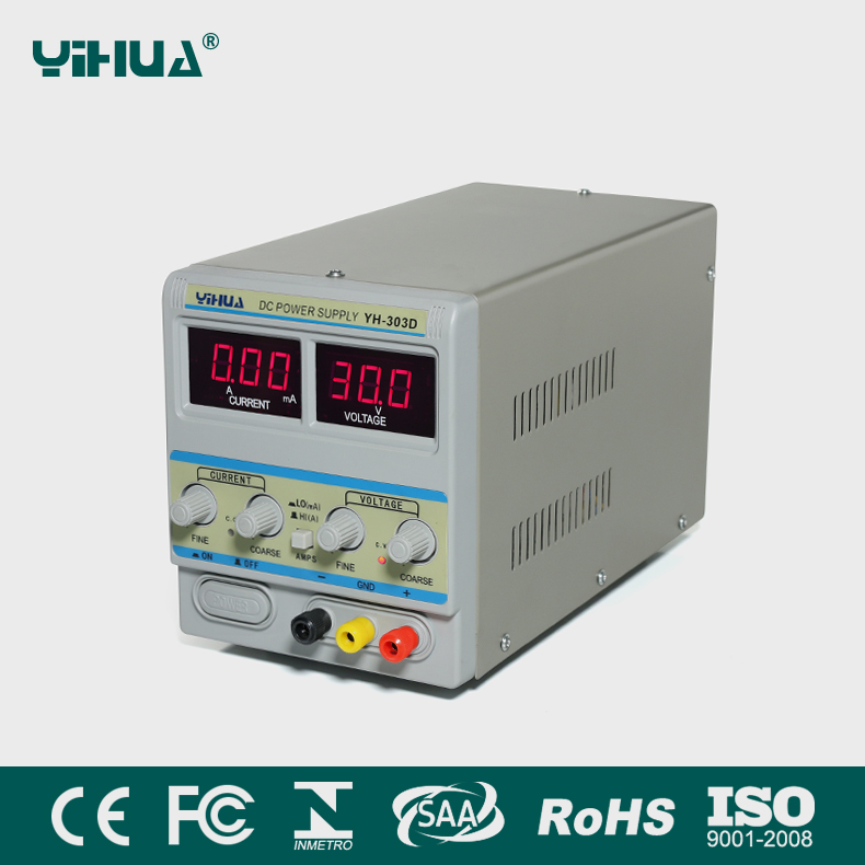 YIHUA 303D 30V/3A 110v dc power supply