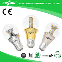 SAA CE RoHS UL Approved Low Power Consumption OEM 5.5W 8W 9.8W e27 led bulb clear