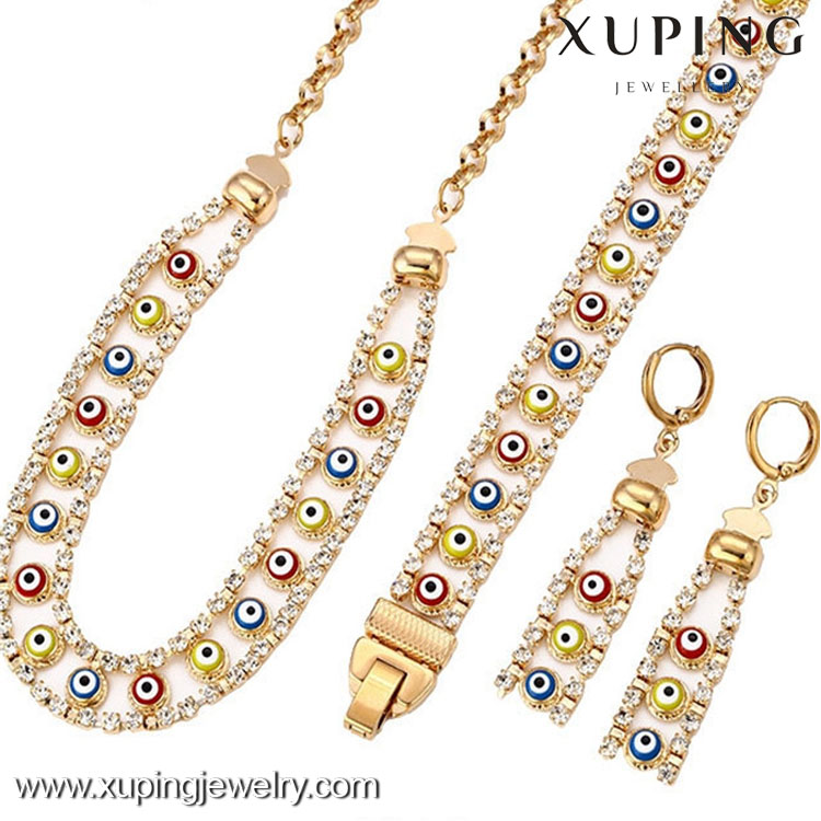 62861 Best selling evil eye cheap fashion jewelry made in china