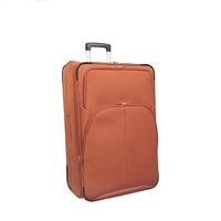 Soft 600D Cabin Wheeled Luggage Bags