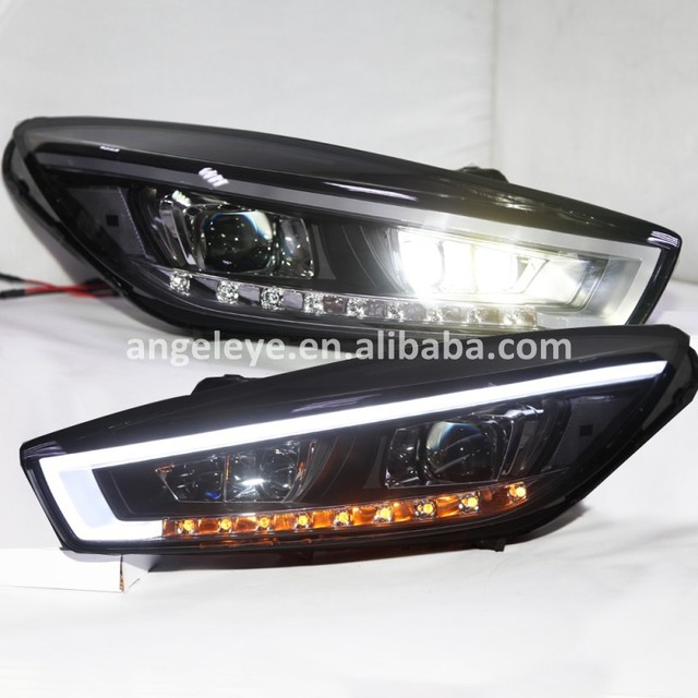 LED front light For Chevrolet Cruze LED Head Lights front lamp for Cruze 2015 year LD