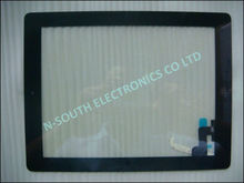 wholesale black Digitized Glass touch screen for ipad 2 touchscreen 2nd generation