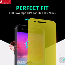 Factory Price Wholesale Shock Proof Explosion proof TPU 3D Screen Protector for LG K10 2017