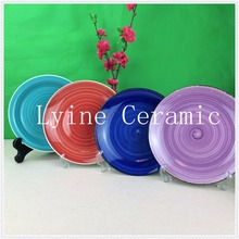 Factory Supply OEM Service high-grade embossed round bone china indian crockery for home