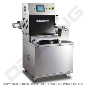 Semi-auto Tray Sealing Machine (DM-350A)