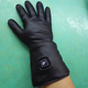 12V motorcycle bicycle power tool waterproof leather heated gloves