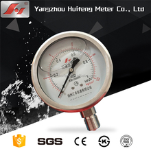 "100mm 4"" manometer factory price high quality hydraulic oil filled pressure gauge"