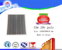WGN 15w 18v guangzhou solar module and solar panel