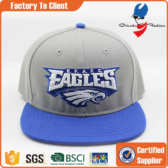 Custom fashion quality 100% acrylic 3D embroidery snapback <strong>caps</strong>, wholesale free snapback <strong>caps</strong>