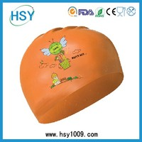 Good elasticity resilient great tensile ratio silicone swimming cap